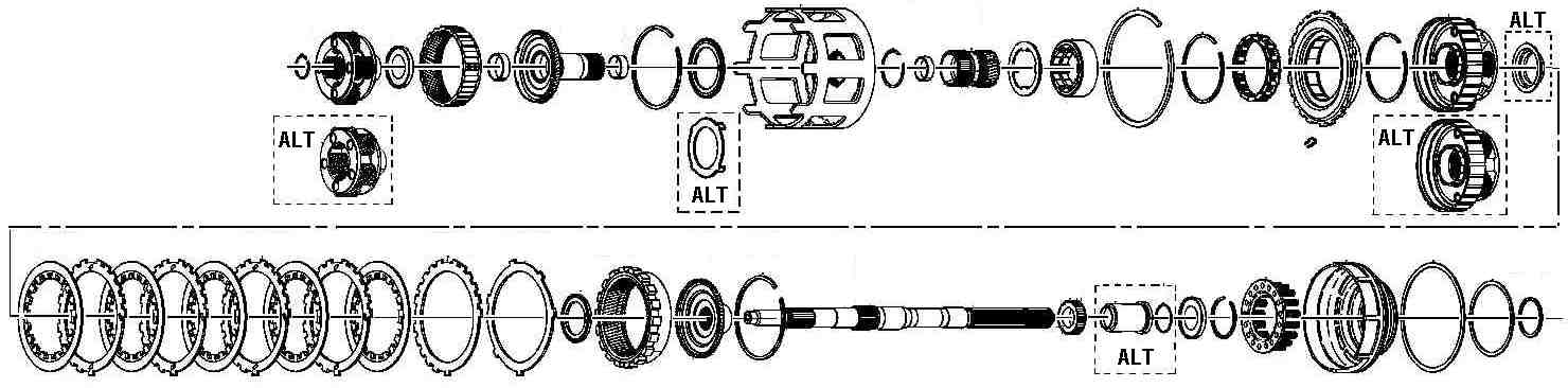 4l60e assembly rh wwdsltd com 4L60E Transmission Plug Wiring Diagram GM 4L60E Transmission Electrical Diagram