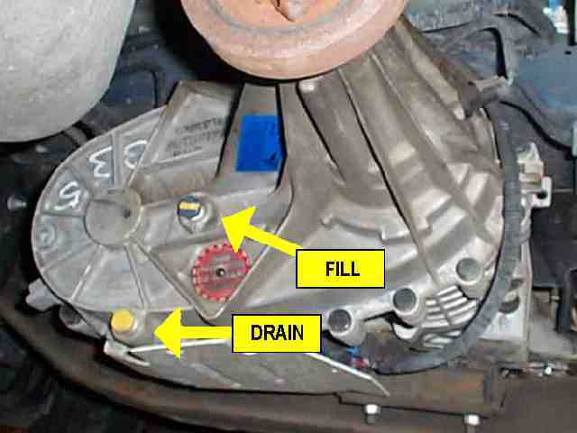 transfer case plugs