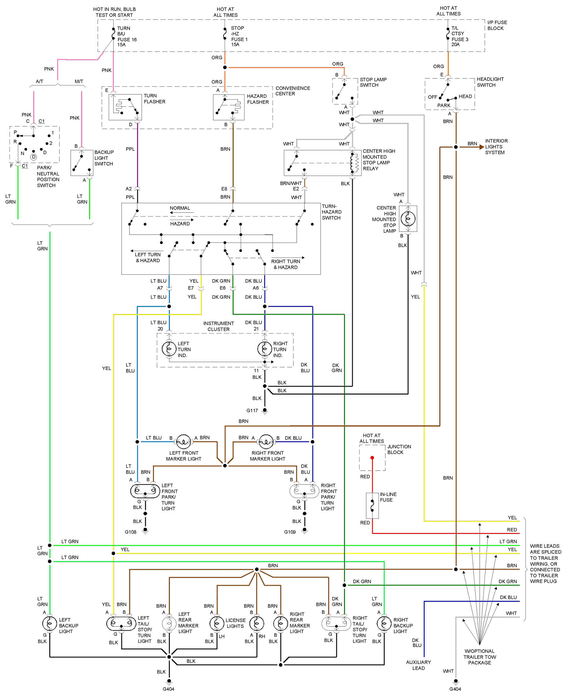 No Brake Lights??? | S-10 Forum | 2001 S10 Rear Lights Wiring Diagram |  | S10 Forum