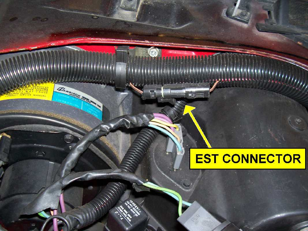 ESTConnector  Wire Harness on american auto, frsky r-xsr, 13an683g163, cable strap,